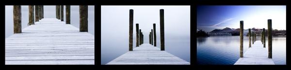 Freezing, Misty, Derwent Water by Blakey_Boy