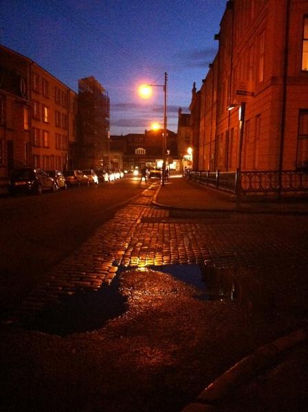 Street at night by roisin