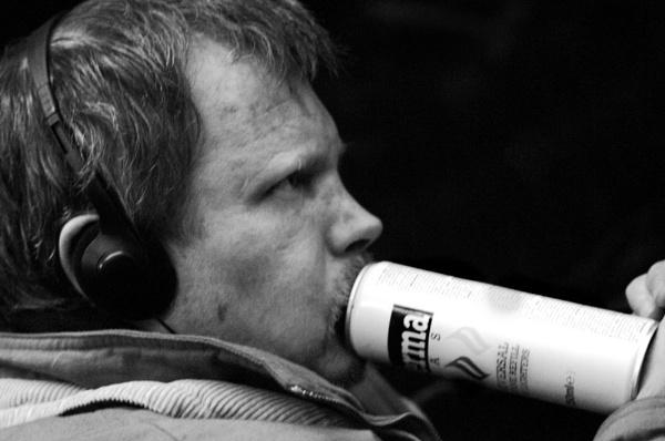 Inhalant abuse by neil john