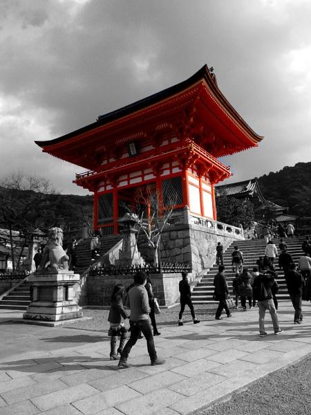 Kiyomizu-dera, Kyoto by colinmacl