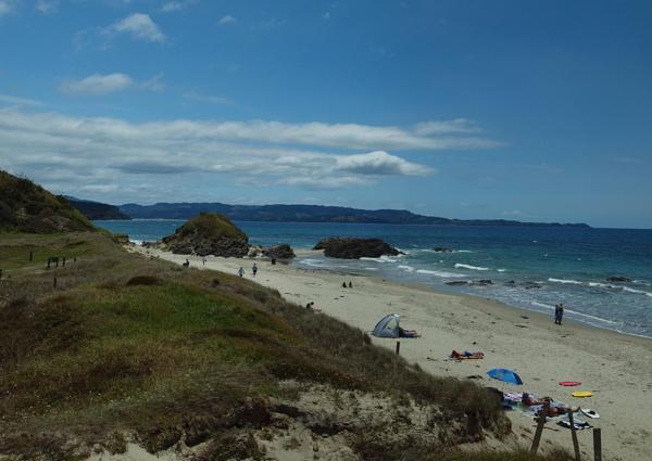 NZ Beach Pano by chensuriashi