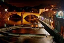 Durham Riverside at night