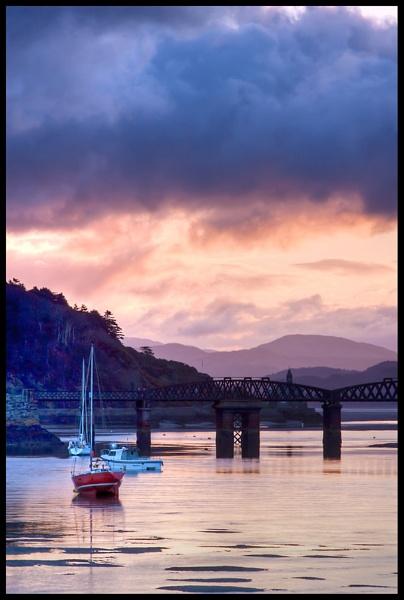 Sunrise on the Mawddach Estuary by BernieS