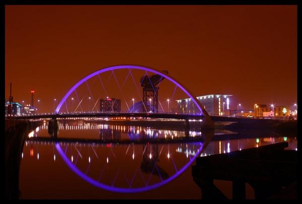 Glasgow\'s Squinty Bridge by StuartCarr