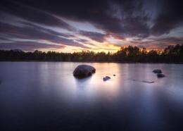 Loch Morlick Sunset