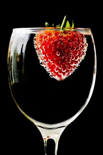 Floating Strawberry by tonyb73