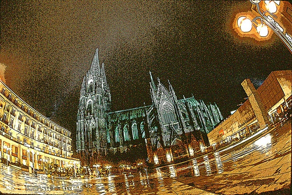 Cathedral at Koln (Cologne) by Carlkuntze