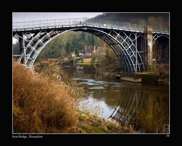Iron Bridge, Shropshire by jer
