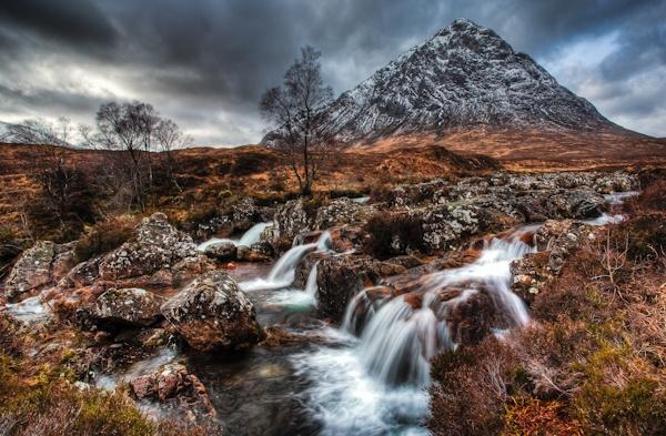Buachaille Scotland by blades