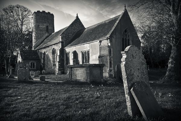 Burgh Castle Church by mpat72