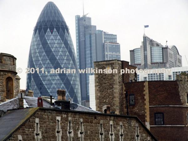The financial skyline of London by AdrianinSpain