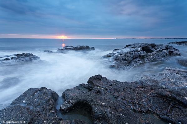 Ogmore Sunset by paulrosser