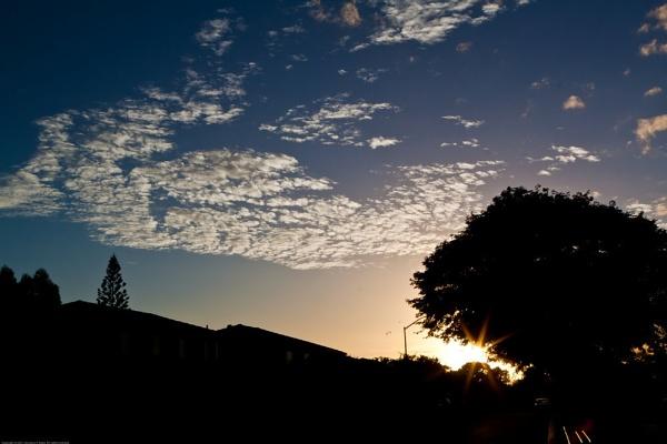 20110309 Wednesday Early Morning Sky by Degilbo