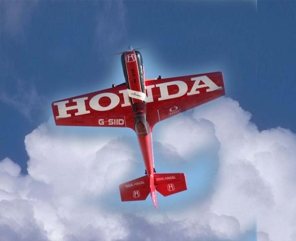 Red Honda by SpanishDave