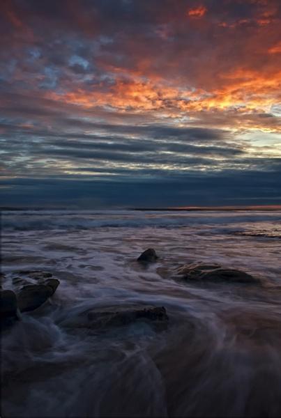 Daybreak Rocks by MelanieB