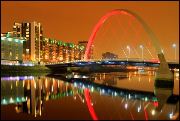 Squinty Bridge Glasgow by NH_Snap
