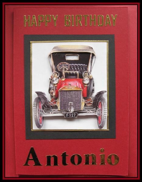 Antonio\'s Birthday Card by Elizabethh