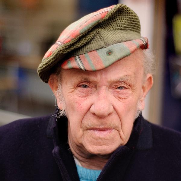 Man with cap by paul_indigo
