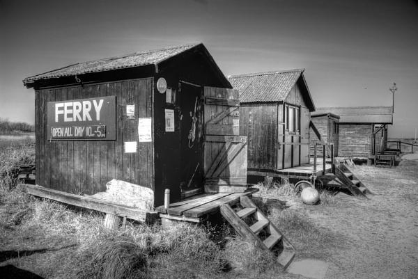 Fishermans huts, Walberswick by mikeb3