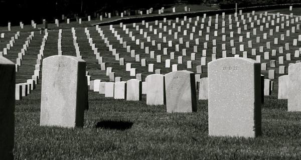 Veterans Cemetery, LA by Gary_Dolby
