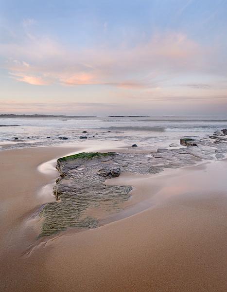 Retreating Tides, Embleton Bay by JGRobinson