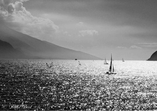 Evening activities on Lake Garda by DavidBird