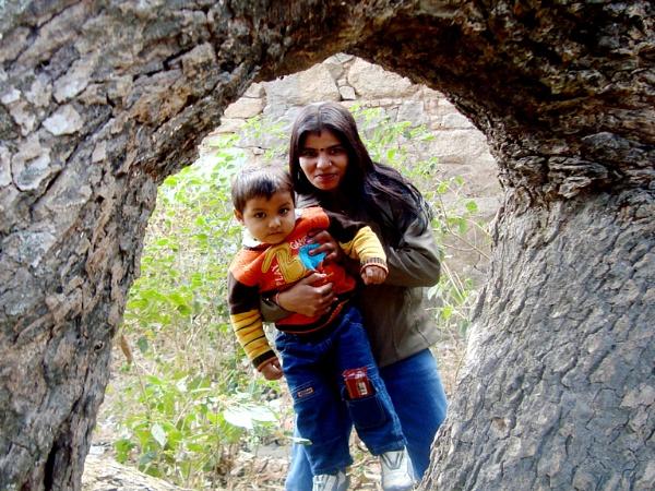 mother & child by Tarachand