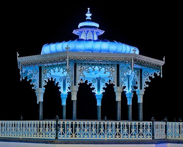 Blue Bandstand