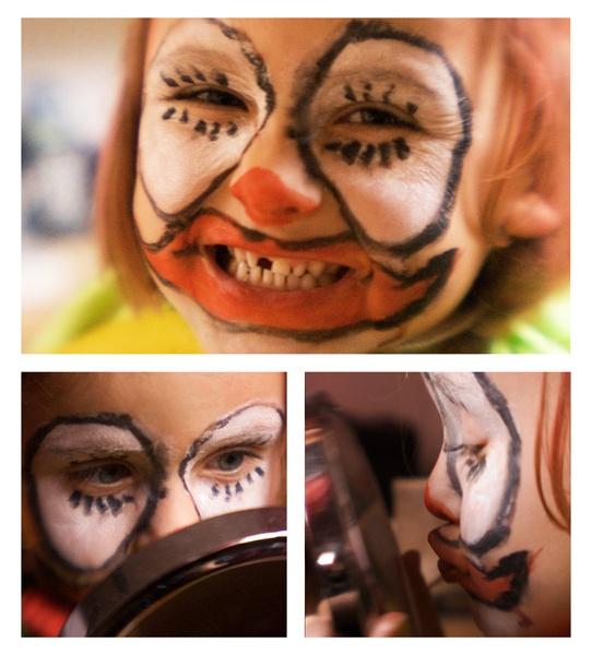 the clown by bliba