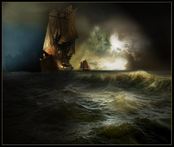 High Sea by CliveA