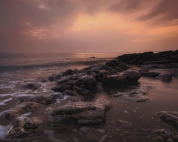 HAZY SUNSET by Imagephotographics