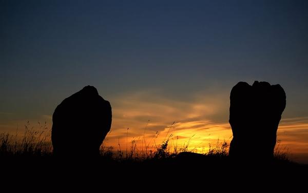 Sunset Stones by MelanieB