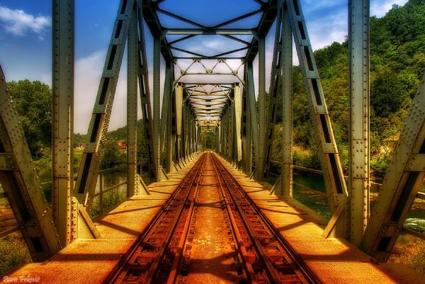Railway bridge by borisfrkovic