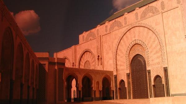Hassan II Mosque, Casablanca, Morocco by pattycake