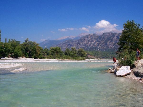 River at Saklikent, Turkey by nikonphotographer