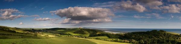 Big Wide Dorset Sky by Maddie
