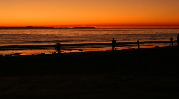 Sun Set Crystal cove California by eagleheadphotos