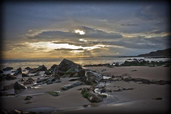 Brora Beach \\sunset by Frase