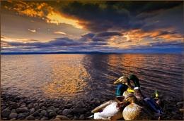 Quack Quack.....Sunrise
