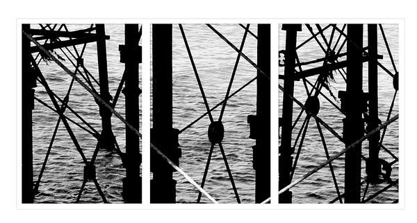 under the pier by ickle_janie