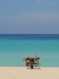 The Beach vendor, Varadero, Cuba