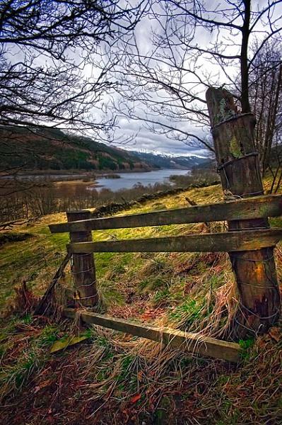 Loch Lubnaig by chazcherry