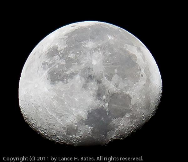 20110323 Waning Gibbous Moon by Degilbo