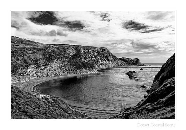 Dorset Coastal Scene - Lulworth Cove by bayleaf1