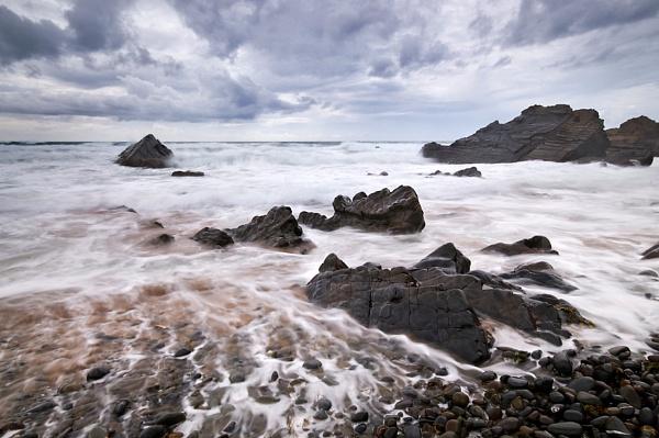 Sandymouth, Cornwall by bart_hoga