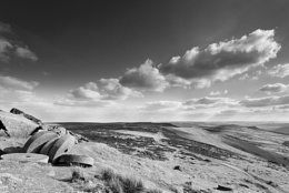View from Stanage