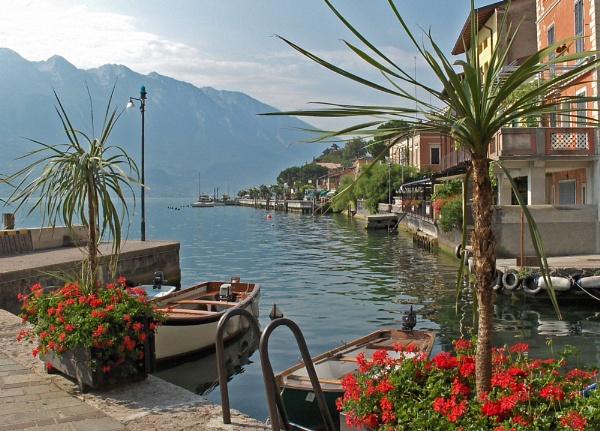 Limone - Lake Garda by Dilys