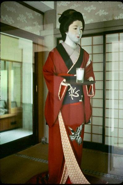 Wax Figure of Okichi. by Carlkuntze