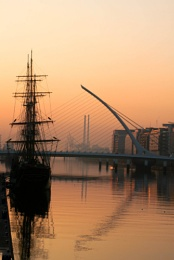 Early morning in Dublin