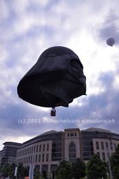 Putrajaya International Hot Air Balloon Fiesta (17th - 20th March) 2011 at Millennium Monument, Putrajaya, Malaysia